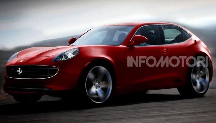 Ferrari Purosangue, il SUV Ferrari arriva nel 2022 - Foto 3 di 7