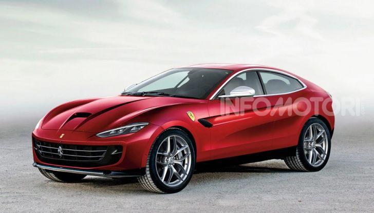 Ferrari Purosangue, il SUV Ferrari arriva nel 2022 - Foto 2 di 7