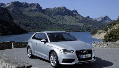 Audi A3 in promozione con rate da 358,11 euro al mese e Audi Service Package in omaggio