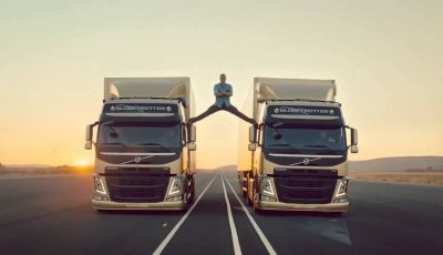 """The Epic Split"" il nuovo video di Volvo Trucks con Jean Claude Van Damme"