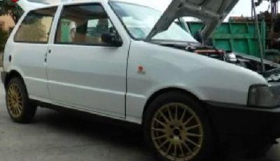 La Fiat Uno sequestrata alla camorra raggiungeva i 300 km/h