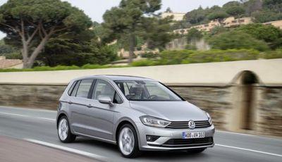 Volkswagen Golf Sportsvan prestazioni e consumi