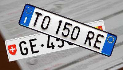 Come cambiare il numero di targa dell'auto