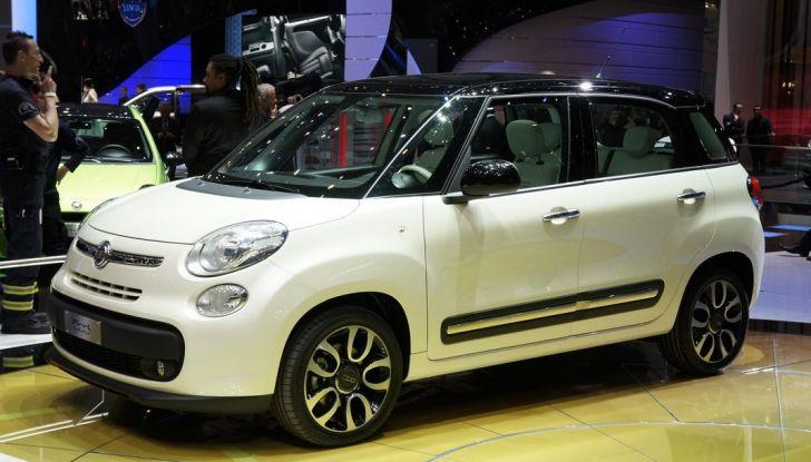 Fiat 500L al Motor Show di GInevra.