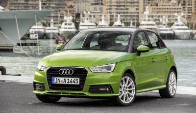 Audi A1 e A1 Sportback con il nuovo 1.0 TFSI 82 CV per neopatentati