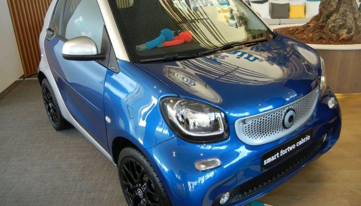 Nuova Smart Fortwo Cabrio test drive