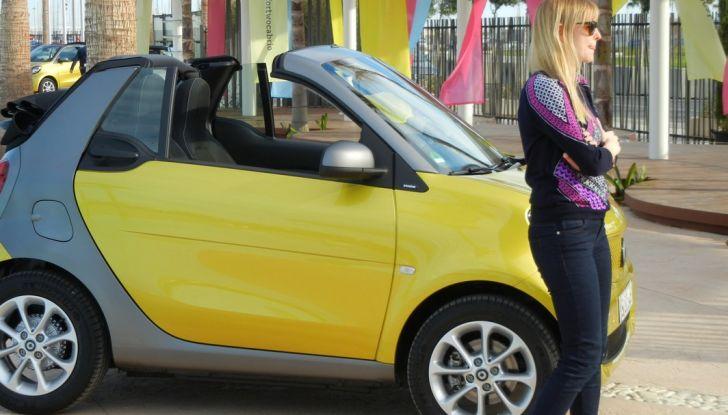 Nuova Smart Fortwo Cabrio: il nostro test drive - Foto 10 di 44