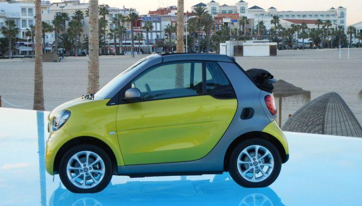 Nuova Smart Fortwo Cabrio: il nostro test drive - Foto 27 di 44