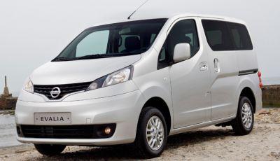 Nissan e-NV200 Evalia provato su strada a Barcellona il multispazio elettrico giapponese