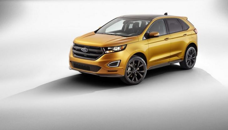 Nuova Ford Edge 2016.
