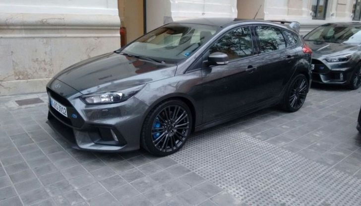 Ford Focus RS equipaggiata Michelin.