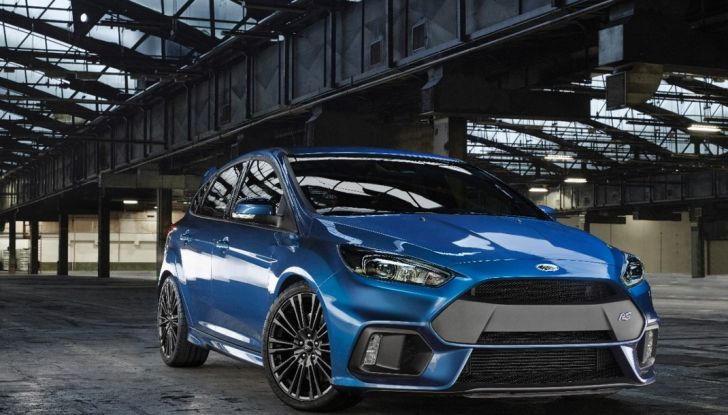 Ford Focus RS 2016,anteriore laterale.