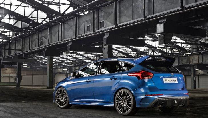 Ford Focus RS 2016.