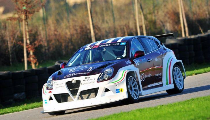 Giulietta Romeo Ferraris all'Autodromo di Monza - Foto 1 di 10