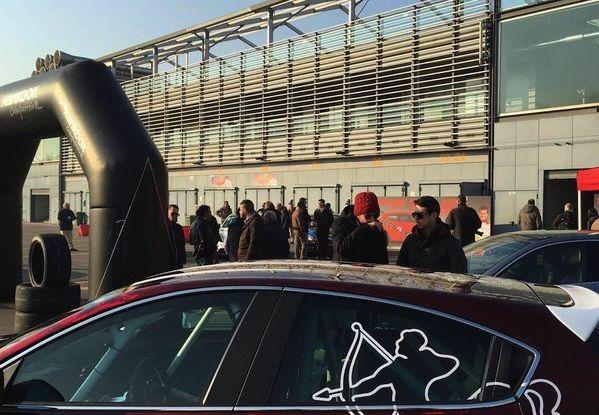 Giulietta Romeo Ferraris all'Autodromo di Monza - Foto 4 di 10