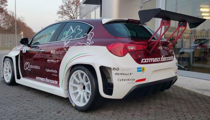 Giulietta Romeo Ferraris all'Autodromo di Monza - Foto 7 di 10