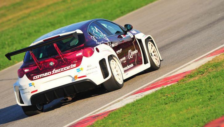 Giulietta Romeo Ferraris all'Autodromo di Monza - Foto 8 di 10