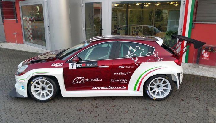 Giulietta Romeo Ferraris all'Autodromo di Monza - Foto 3 di 10