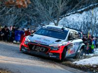 Hyundai WRC al Rallye di Monte-Carlo 2016
