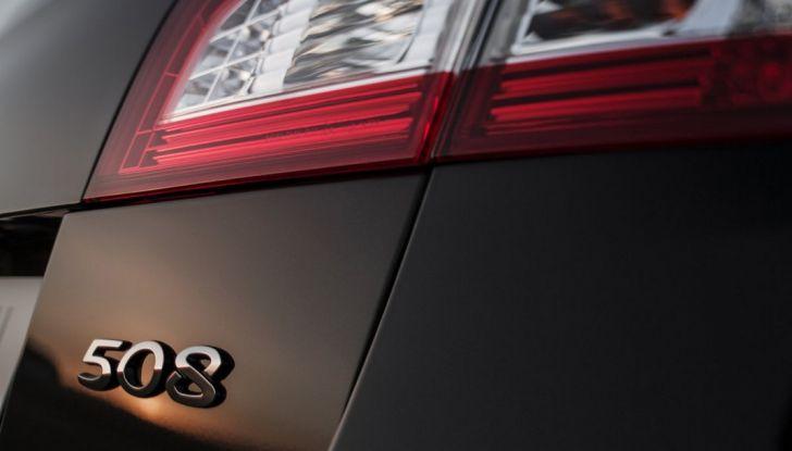 Nuova Peugeot 508 Berlina - Foto 8 di 9