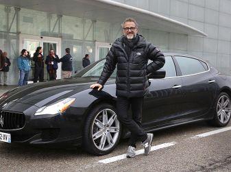 Massimo Bottura con Maserati miglior Chef europeo 2016