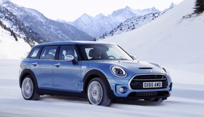 Mini Clubman: ora con trazione integrale ALL4