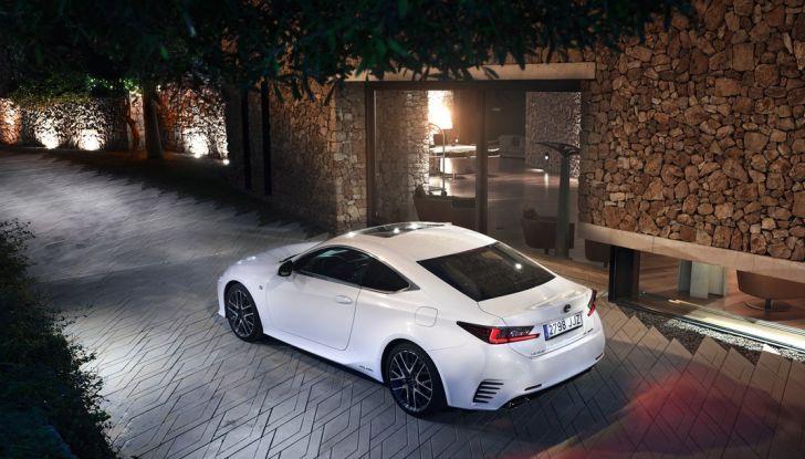 Lexus RC Hybrid pronta al lancio - Foto 3 di 12