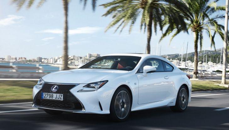 Lexus RC Hybrid pronta al lancio - Foto 5 di 12
