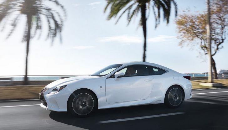 Lexus RC Hybrid pronta al lancio - Foto 6 di 12