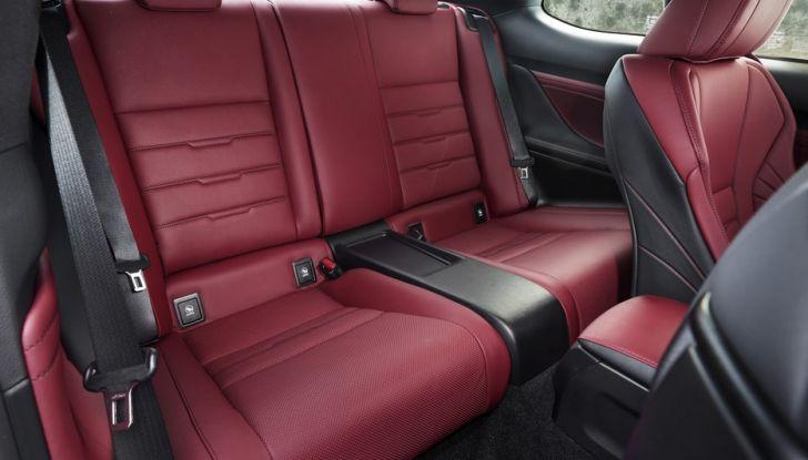 Lexus RC Hybrid pronta al lancio - Foto 11 di 12