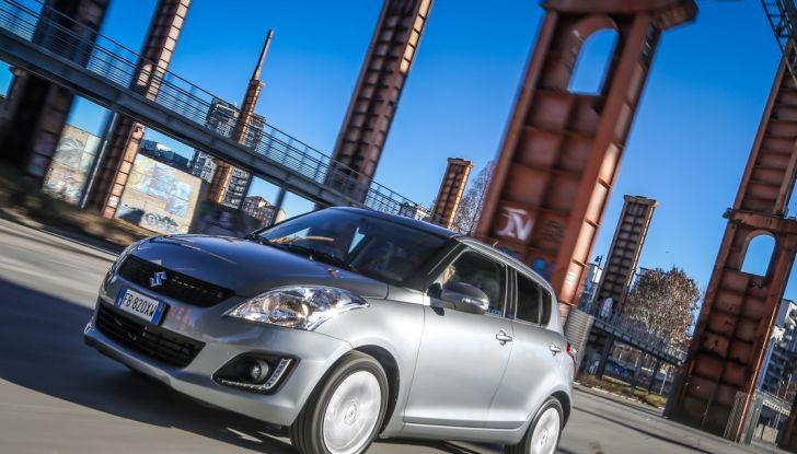 Suzuki Celerio e Swift, il cambio automatico arriva su tutta la gamma - Foto 14 di 17