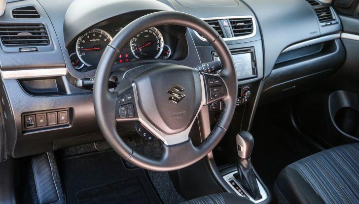 Suzuki Celerio e Swift, il cambio automatico arriva su tutta la gamma - Foto 7 di 17