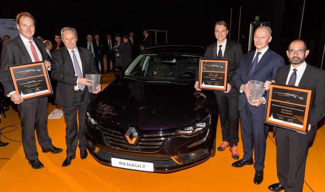 Renault premiata al Festival Automobilistico Internazionale 2016