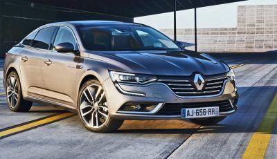 Renault Talisman: la nuova berlina della casa francese