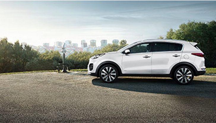 Nuova Kia Sportage 2018 con Diesel Ibrido: meno consumi, più ecologia - Foto 6 di 8