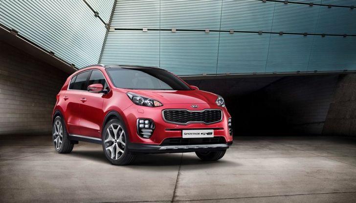 Nuova Kia Sportage 2018 con Diesel Ibrido: meno consumi, più ecologia - Foto 4 di 8