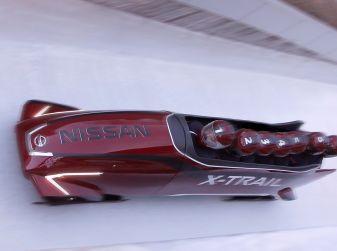 Nissan realizza il primo bob a 7 posti: nasce il Nissan X-Trail Bobsleigh
