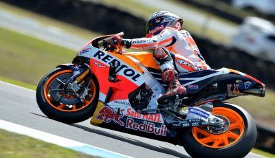 Test MotoGP a Phillip Island, Day3: Marquez mette tutti in fila, paura per Lorenzo