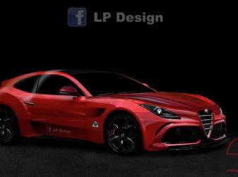 Alfa Romeo Estrema rendering