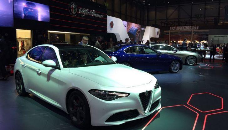 Alfa Romeo Giulia live Ginevra 2016
