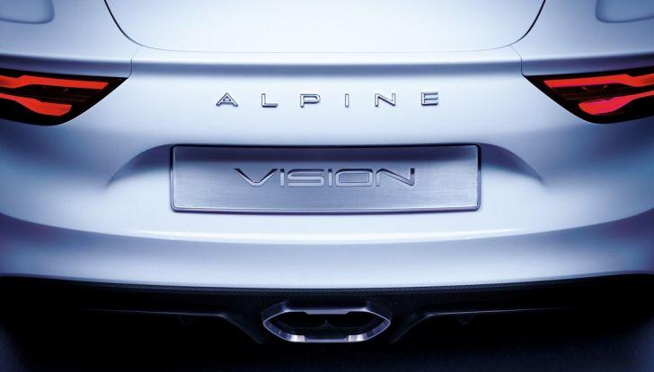 Alpine Vision: una coupè per il ritorno della casa francese - Foto 8 di 23