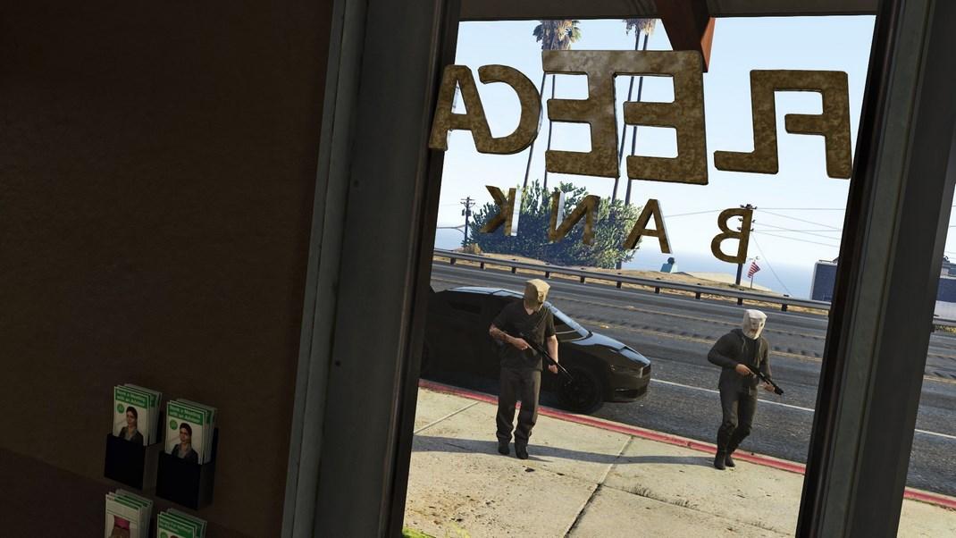 Auto a noleggio utilizzata dai ladri per una rapina in banca