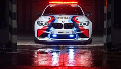 BMW M2 è la Safety Car del MotoGP 2016