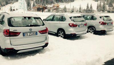BMW X5 xDrive40e, l'ibrida plug-in provata su strada e sulla neve