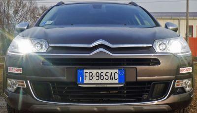 Citroën C5 Cross Tourer: Prova su strada, caratteristiche e prezzi