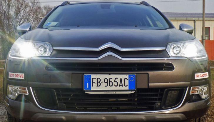 Citroën C5 Cross Tourer: Prova su strada, caratteristiche e prezzi - Foto 1 di 11