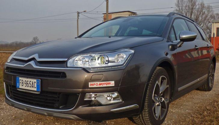 Citroën C5 Cross Tourer: Prova su strada, caratteristiche e prezzi - Foto 9 di 11