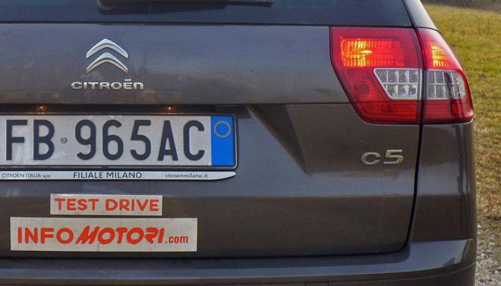 Citroën C5 Cross Tourer: Prova su strada, caratteristiche e prezzi - Foto 7 di 11