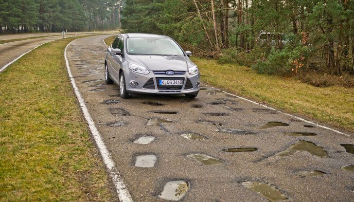 Centro Prove Ford di Lommel, la strada più accidentata del mondo! - Foto 11 di 11