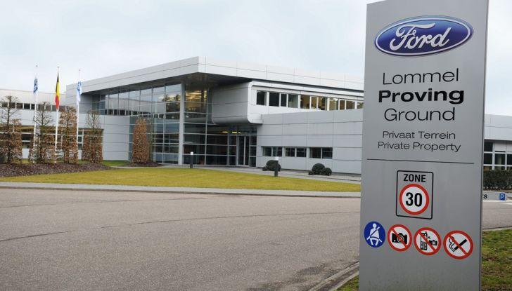 Centro Prove Ford di Lommel, la strada più accidentata del mondo! - Foto 4 di 11